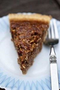 This Slow Cooker Pecan Pie is one  - 135 Slow Cooker Dessert Recipes - RecipePin.com