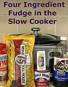 Because the mixture doesn't need t - 135 Slow Cooker Dessert Recipes - RecipePin.com