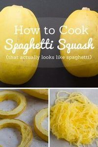 How to Cook Spaghetti Squash (that - 275 Spaghetti Squash Recipes - RecipePin.com