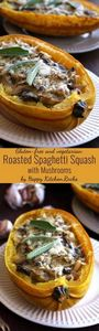 Easy and delicious roasted spaghet - 275 Spaghetti Squash Recipes - RecipePin.com