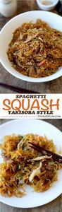 Spaghetti Squash Yakisoba Recipe - - 275 Spaghetti Squash Recipes - RecipePin.com