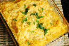 Spaghetti Squash and Cheese - A pe - 275 Spaghetti Squash Recipes - RecipePin.com