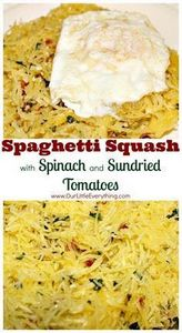 Spaghetti Squash with Spinach and  - 275 Spaghetti Squash Recipes - RecipePin.com