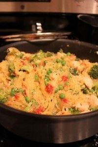 Spaghetti squash with grilled chic - 275 Spaghetti Squash Recipes - RecipePin.com