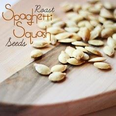 Roasted Spaghetti Squash Seeds [Sw - 275 Spaghetti Squash Recipes - RecipePin.com