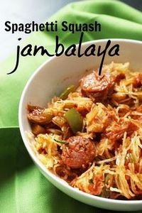 Spaghetti Squash Jambalaya | Good  - 275 Spaghetti Squash Recipes - RecipePin.com