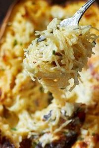 Enjoy the creaminess of this gorge - 275 Spaghetti Squash Recipes - RecipePin.com