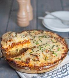 Spaghetti Squash Pie - 275 Spaghetti Squash Recipes - RecipePin.com