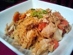 Chicken Pad Thai made with Spaghet - 275 Spaghetti Squash Recipes - RecipePin.com
