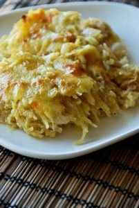 Spaghetti Squash Au Gratin with Ca - 275 Spaghetti Squash Recipes - RecipePin.com