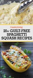 Save these guilt-free spaghetti sq - 275 Spaghetti Squash Recipes - RecipePin.com