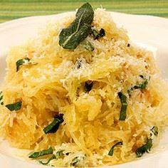 spaghetti squash with herb butter - 275 Spaghetti Squash Recipes - RecipePin.com