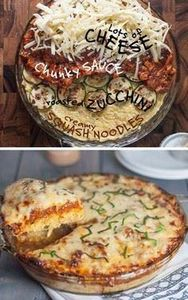 Low Carb - Spaghetti Squash Pie  2 - 275 Spaghetti Squash Recipes - RecipePin.com