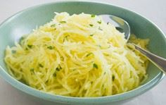 Roasted Spaghetti Squash with Herb - 275 Spaghetti Squash Recipes - RecipePin.com