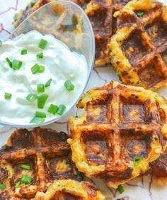 Spaghetti Squash and Quinoa Waffle - 275 Spaghetti Squash Recipes - RecipePin.com