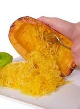 Cooked Spaghetti Squash.   This si - 275 Spaghetti Squash Recipes - RecipePin.com