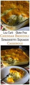 Cheesy Broccoli Spaghetti Squash C - 275 Spaghetti Squash Recipes - RecipePin.com
