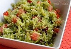 Spaghetti squash pesto with tomato - 275 Spaghetti Squash Recipes - RecipePin.com