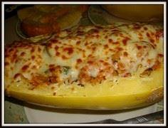 Stuffed spaghetti squash! easy del - 275 Spaghetti Squash Recipes - RecipePin.com