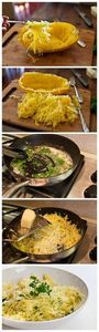 Baked Spaghetti Squash with Garlic - 275 Spaghetti Squash Recipes - RecipePin.com