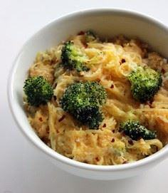 Spaghetti Squash Mac and Cheese - 275 Spaghetti Squash Recipes - RecipePin.com
