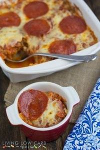Pizza Spaghetti Squash Casserole # - 275 Spaghetti Squash Recipes - RecipePin.com