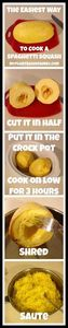 The Easiest Way to Cook Spaghetti  - 275 Spaghetti Squash Recipes - RecipePin.com