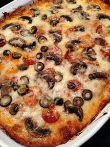 This is a spaghetti squash pizza b - 275 Spaghetti Squash Recipes - RecipePin.com