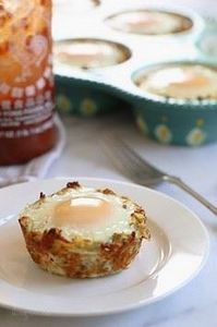 Baked Eggs in Spaghetti Squash Nes - 275 Spaghetti Squash Recipes - RecipePin.com