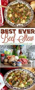 Best Ever Beef Stew recipe from Th - 120 Delicious Stew Recipes - RecipePin.com