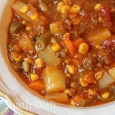 Ground Beef Hobo Stew by DeepSouth - 120 Delicious Stew Recipes - RecipePin.com