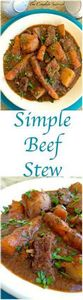 Simple Beef Stew ~ Made in the slo - 120 Delicious Stew Recipes - RecipePin.com