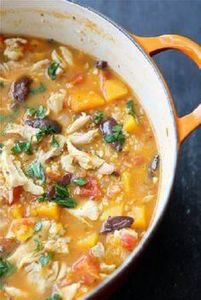 Hearty Chicken Stew with Butternut - 120 Delicious Stew Recipes - RecipePin.com