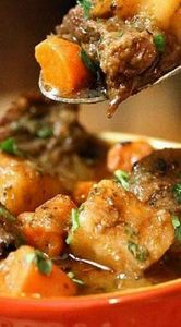 Hearty Beef Soup ~ this is the BES - 120 Delicious Stew Recipes - RecipePin.com