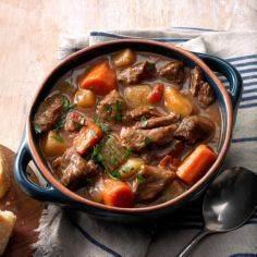 Slow Cooker Beef Stew Recipe -When - 120 Delicious Stew Recipes - RecipePin.com