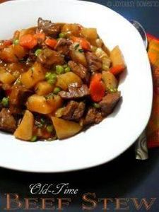 PD's Old-Time Beef Stew. This is a - 120 Delicious Stew Recipes - RecipePin.com