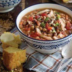 Chicken and Black-Eyed Pea Stew - 120 Delicious Stew Recipes - RecipePin.com