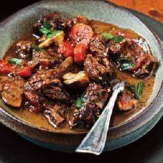 Italian beef stew. Served this wit - 120 Delicious Stew Recipes - RecipePin.com