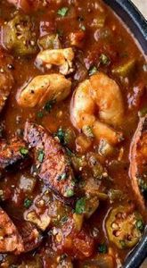 Gumbo-laya With Spicy Sausage, Chi - 120 Delicious Stew Recipes - RecipePin.com