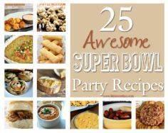 25 Awesome Super Bowl Party Recipe - 300 Tailgating Recipes - RecipePin.com