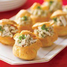These homemade Stuffed Cheese Puff - 300 Tailgating Recipes - RecipePin.com