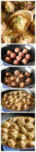Swedish Meatballs - Nothing beats  - 300 Tailgating Recipes - RecipePin.com