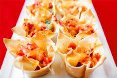 Chipotle Chicken Cups - 300 Tailgating Recipes - RecipePin.com