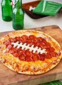 Football Pepperoni Pizza for the S - 300 Tailgating Recipes - RecipePin.com
