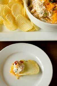 Loaded Baked Potato Dip.  This is  - 300 Tailgating Recipes - RecipePin.com