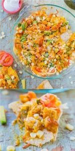 Loaded BBQ Chicken Nugget Nachos ( - 300 Tailgating Recipes - RecipePin.com