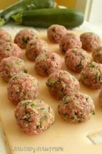 Zucchini, Parmesan and Herb Meatba - 300 Tailgating Recipes - RecipePin.com