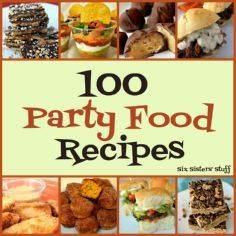 100 Party Food Ideas from sixsiste - 300 Tailgating Recipes - RecipePin.com