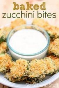 Six Sisters Baked Zucchini Bites R - 300 Tailgating Recipes - RecipePin.com