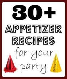 30+ great appetizer recipes - 300 Tailgating Recipes - RecipePin.com